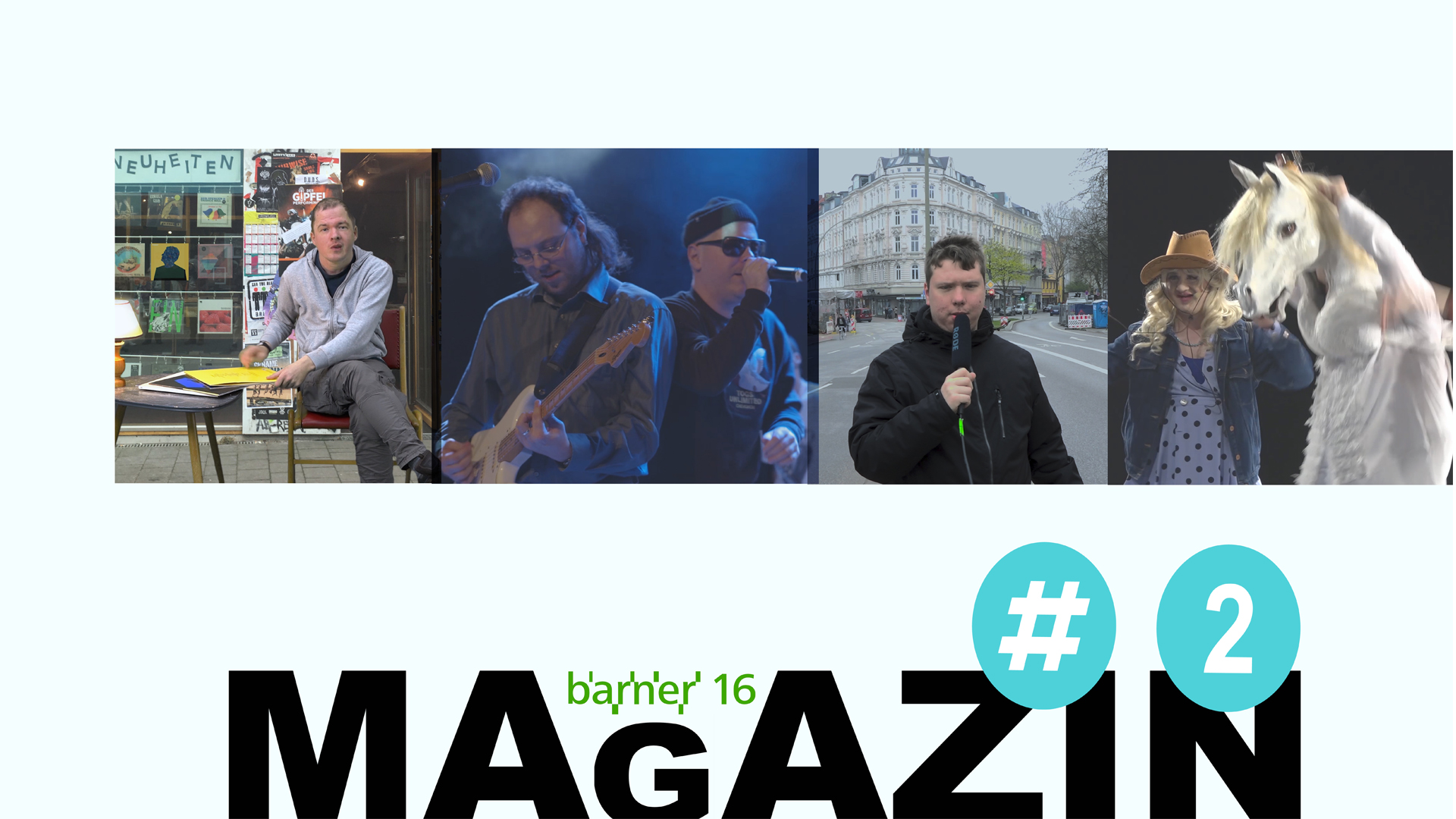 Video: barner 16 Magazin # 2